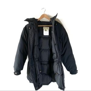 Eddie Bauer Hooded Goose Down Long Parka